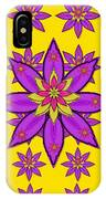 Fantasy Big Flowers In The Happy Jungle Of Love IPhone Case