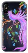 Fantasy Feather Bird IPhone Case