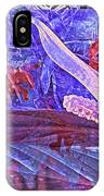 Fantasy With African Violets And Peace Lily 46 IPhone Case