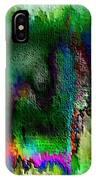 Farbige Phantasie IPhone Case