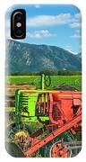 Farm  Art Tractors IPhone Case
