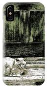 Farm Cat IPhone Case