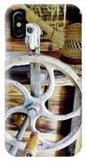 Farm Equipment Corn Sheller IPhone Case