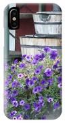 Farm Flowers IPhone Case