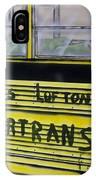 Farm Labor Bus IPhone Case