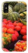 Farm To Market Produce - Melons, Corn, Tomatoes IPhone Case