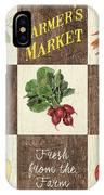 Farmer's Market Patch IPhone Case