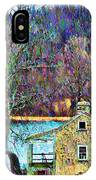 Farmhouse By The Lake IPhone Case