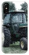 Farming John Deere 4430 Pa 01 IPhone Case