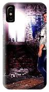 Fashion Model In Jeans  IPhone Case