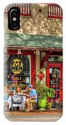 Fat Hen Grocery - New Orleans IPhone Case