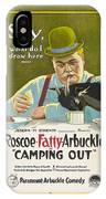 Fatty Arbuckle In Camping Out 1919 IPhone Case