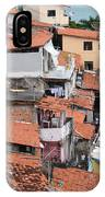 Favela In Salvador Da Bahia Brazil IPhone Case