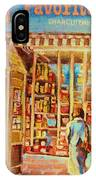 Favorite Viande Market IPhone Case