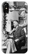 Fdr Presenting Medal Of Honor To William Wilbur IPhone Case