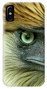 Fearless Philippine Eagle IPhone Case