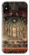 Feast Given By Cardinal De La Rochefoucauld  IPhone Case