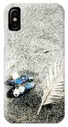 Feathers And Mussel IPhone Case