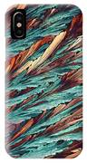 Feathers Of Crystal 2 IPhone Case