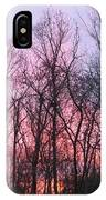 February At Twilight IPhone Case