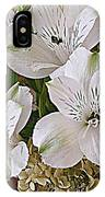 February Flowers IPhone Case