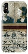 Federal Prohibition Agent Daisy Simpson 1921 IPhone Case