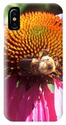 Feeding Off The Flower IPhone Case
