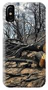 Felled After The Wildfire IPhone Case
