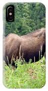 Female Moose IPhone Case