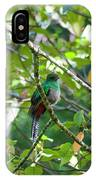 Female Quetzal IPhone Case