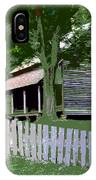 Fence And Cabin IPhone Case
