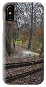 Fence In The Forrest IPhone Case