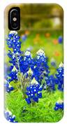 Fence Me In With Flowers IPhone Case