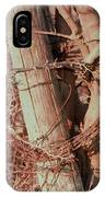 Fence Post Buddy IPhone Case