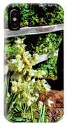 Fence-yucca-rock IPhone Case
