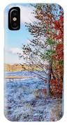 Fenced Autumn IPhone Case