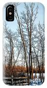 Fenced In Landscape IPhone Case