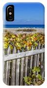Fences On The Dunes IPhone Case