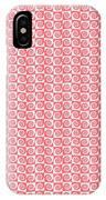 Fermat Spiral Pattern Effect Pattern Red IPhone Case