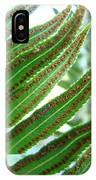 Fern Art Print Green Forest Ferns Baslee Troutman IPhone Case