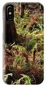 Fern Forest Floor IPhone Case