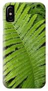 Fern Leaf In June IPhone Case