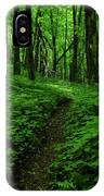 Fern Lined At In Ma IPhone Case