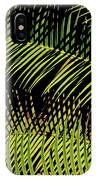 Fern-palm Abtract IPhone Case