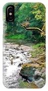 Fern River Oregon IPhone Case