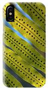 Fern Spores IPhone Case