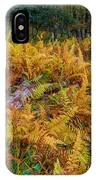 Ferns Along A Trail IPhone Case