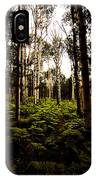 Ferns And Aspen IPhone Case