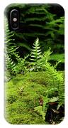 Ferns And Moss On The Ma At IPhone Case