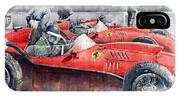 Ferrari Dino 246 F1 1958 Mike Hawthorn French Gp  IPhone X Case